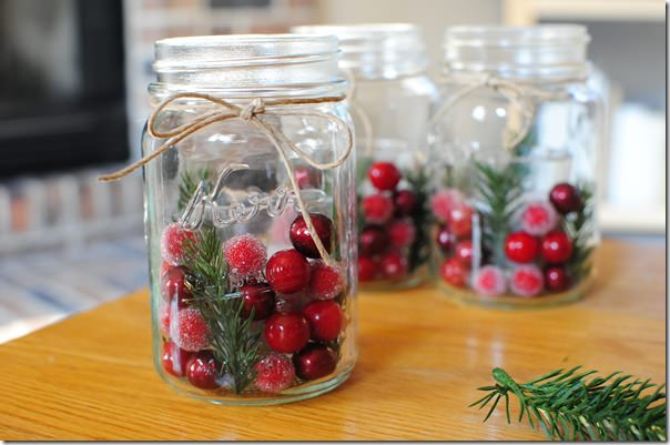 DIY Holiday Decor For Under 40 Iowa Girl Eats Custom Decorated Jars For Christmas