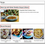 Brand New Recipes Section: Search, Print, Email & Share!