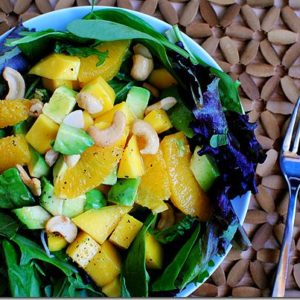 Mango, Orange & Avocado Spring Salad
