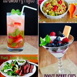 Fresh & Flavorful Memorial Day Menu