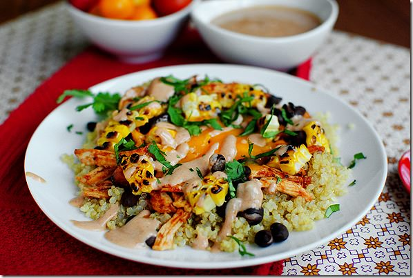 Bbq Chicken Quinoa Salad Iowa Girl Eats