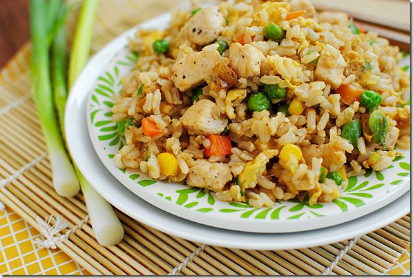 Easy chicken fried rice iowa girl eats easy chicken fried rice glutenfree iowagirleats ccuart Gallery