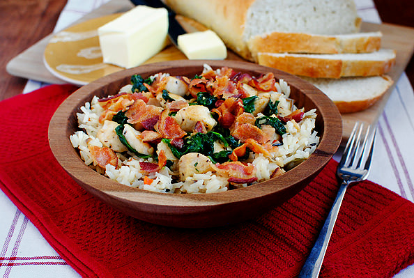 Chicken bacon and rice bowls iowa girl eats chewy forumfinder Images