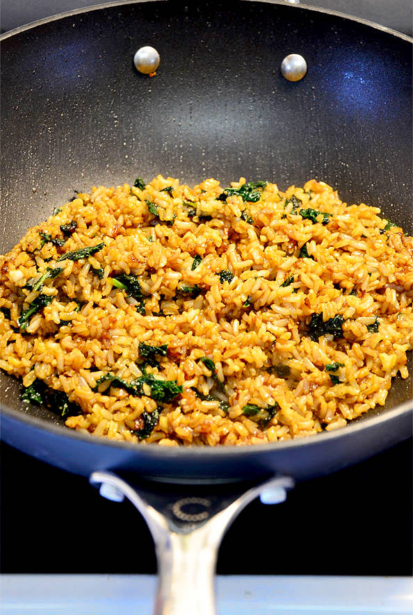 Fried rice meets sizzling salad meets HELLO delicious in this yummy, one-skillet stir fried side dish that's full of tongue-tingling glucecelpa1988.gqlized Sweet Potato and Kale Fried Wild Rice is a flavor-packed side dish that is anything but forgettable!