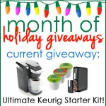 Month of Holiday Giveaways: Ultimate Keurig Starter Kit - CLOSED