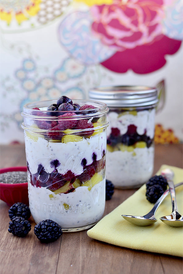 Make Ahead Fruit Yogurt Breakfast Parfaits Video Iowa Girl Eats