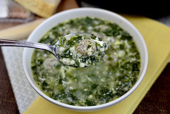 Italian Wedding Soup | iowagirleats.com
