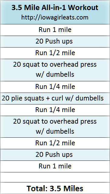 3.5 Mile All-in-1 Workout | buzzpur.info