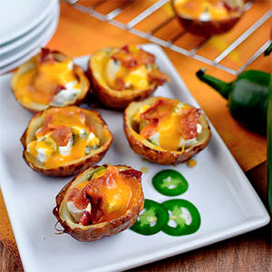 Roasted Jalapeno Popper Potato Skins + Friday Favorites