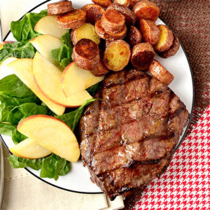 Dijon-Brown Sugar Marinated Steak