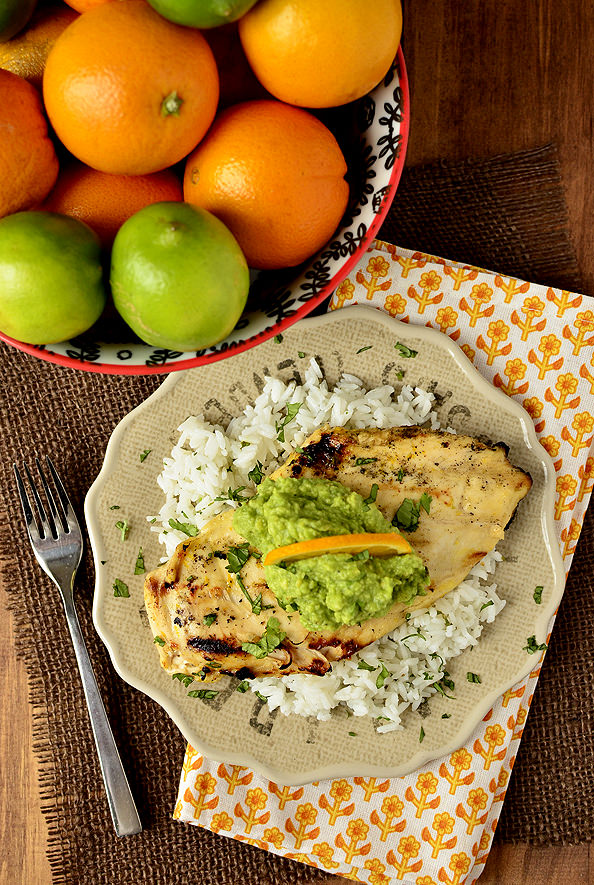 Fresh Margarita Chicken | iowagirleats.com