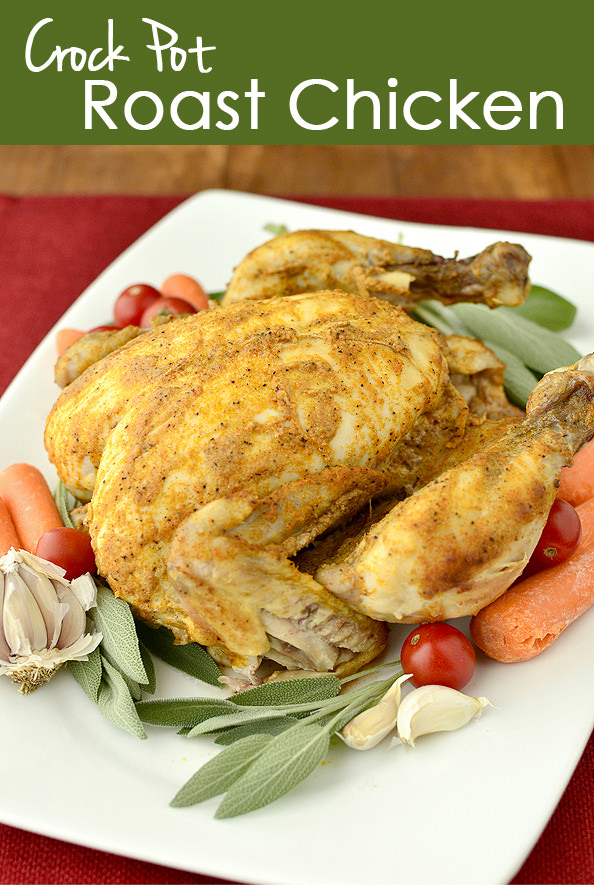 Crock Pot Roast Chicken