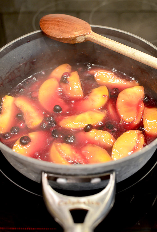 Peach a Berry Cobbler | iowagirleats.com