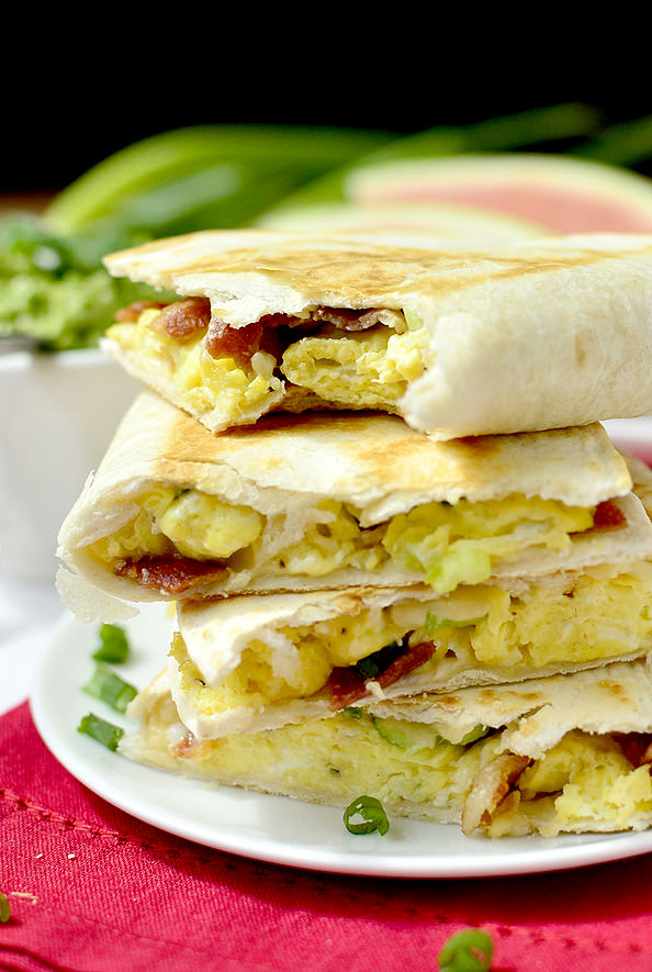 Breakfast Quesadillas | iowagirleats.com