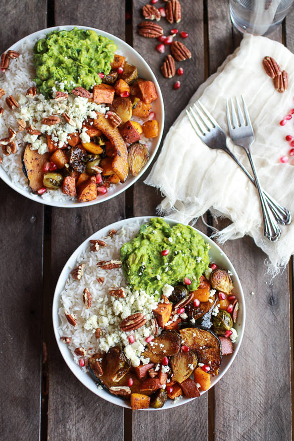 Roasted-Harvest-Veggie-Pomegrantes-and-Curried-Avocado- -Coconut-Rice-Bowls-1_mini