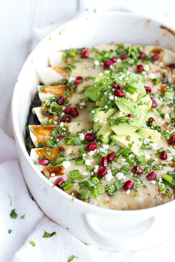 Cheesy-Sweet-and-Sour-Pomegranate-Thai-Chicken-Enchiladas-8_mini