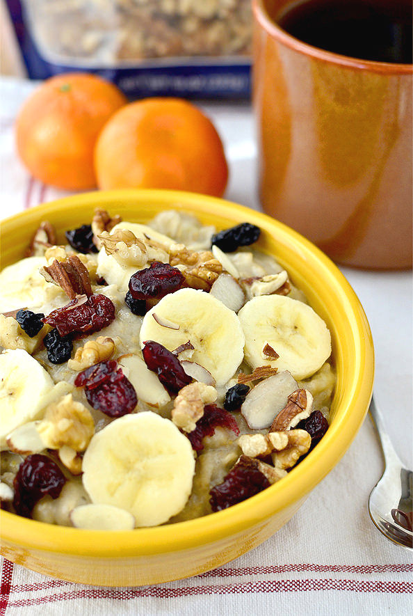 Copycat Starbucks Perfect Oatmeal #breakfast | iowagirleats.com