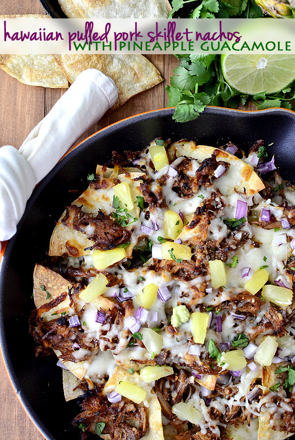 Hawaiian-Pulled-Pork-Skillet-Nachos-with-Pineapple-Guacamole-iowagirleats.com-01_mini