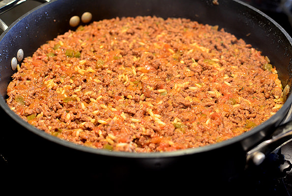 Crunchy Taco Homemade Hamburger Helper | iowagirleats.com
