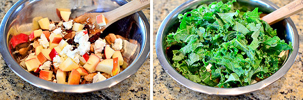 Kale and Wild Rice Bowls with Honey-Balsamic Vinaigrette | buzzpur.info