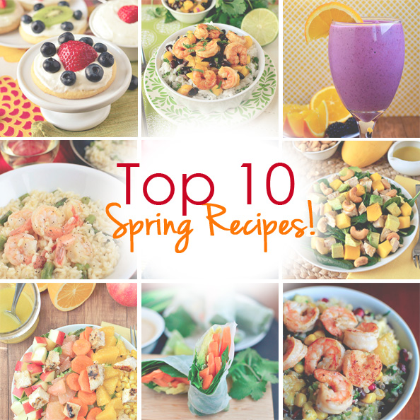 Top 10 Spring Recipes | iowagirleats.com