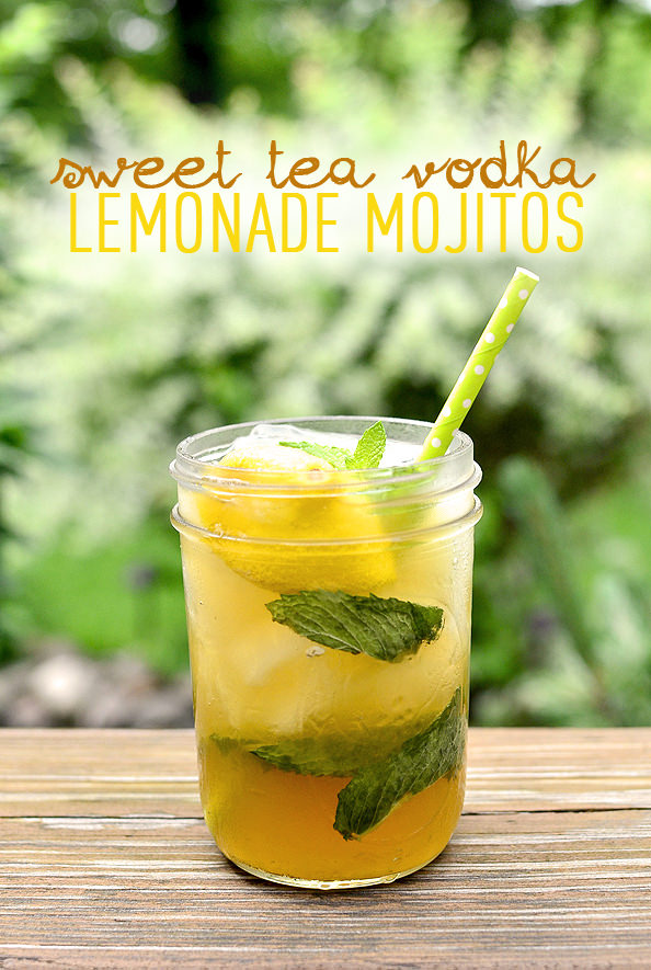 Sweet tea vodka lemonade mojitos make ahead iowa girl for Fruity mixed drinks recipes