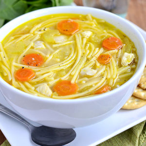 Gluten-Free Homemade Chicken Noodle Soup