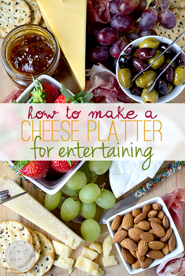How To Make a Cheese Plate For Entertaining #holidays #glutenfree | iowagirleats.com