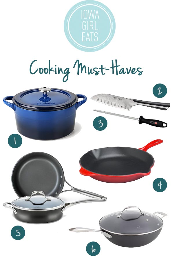 Cooking Must Haves - 2014 Holiday Gift Guide for Foodies | iowagirleats.com
