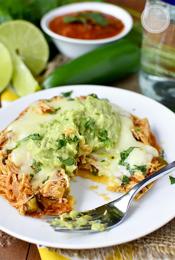 Crock Pot Ranchero Chicken | iowagirleats.com