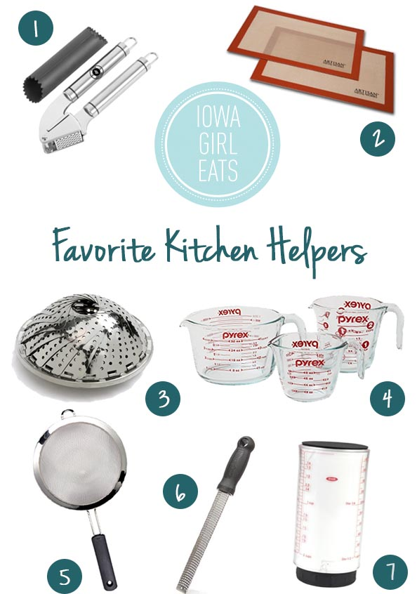 Favorite Kitchen Helpers - 2014 Holiday Gift Guide for Foodies | iowagirleats.com