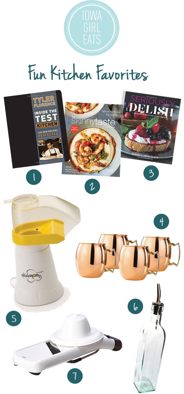 Fun Kitchen Favorites - 2014 Holiday Gift Guide for Foodies | iowagirleats.com