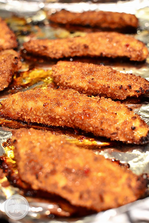Thai Sticky Chicken Fingers #glutenfree | iowagirleats.com