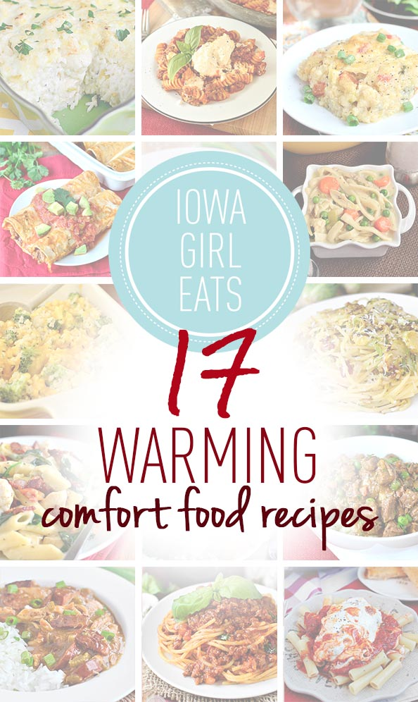 17 Warming Comfort Food Recipes