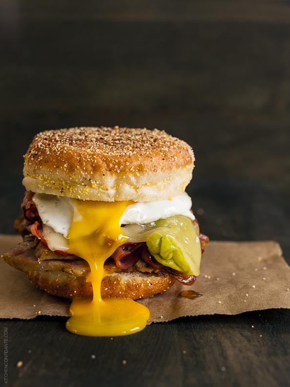 Cubano Breakfast Sandwich | www.kitchenconfidante.com