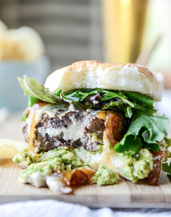 GoatCheeseGuacBurgers
