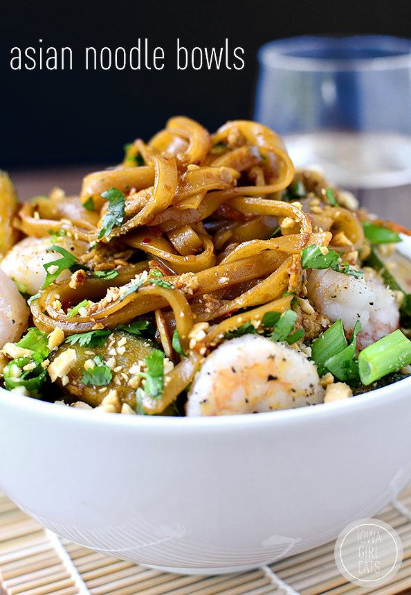 Photo of Asian Noodle Bowls