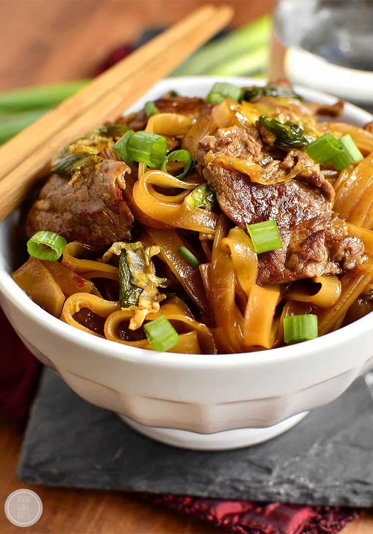Gluten Free Mongolian Beef Noodle Bowls Taste Just Like Take Out Swapping Rice For