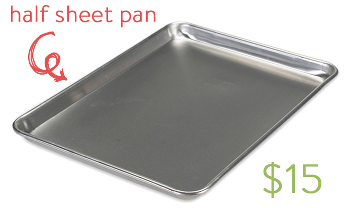 Half sheet pan | iowagirleats.com