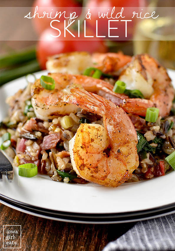 Shrimp-and-Wild-Rice-Skillet-iowagirleats