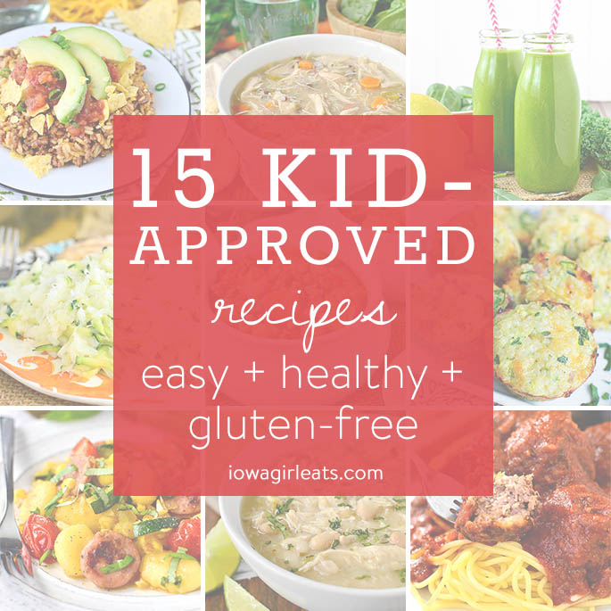 From soup to side dishes, pasta and more, here are 15 of my top kid-approved recipes determined by YOU! | iowagirleats.com