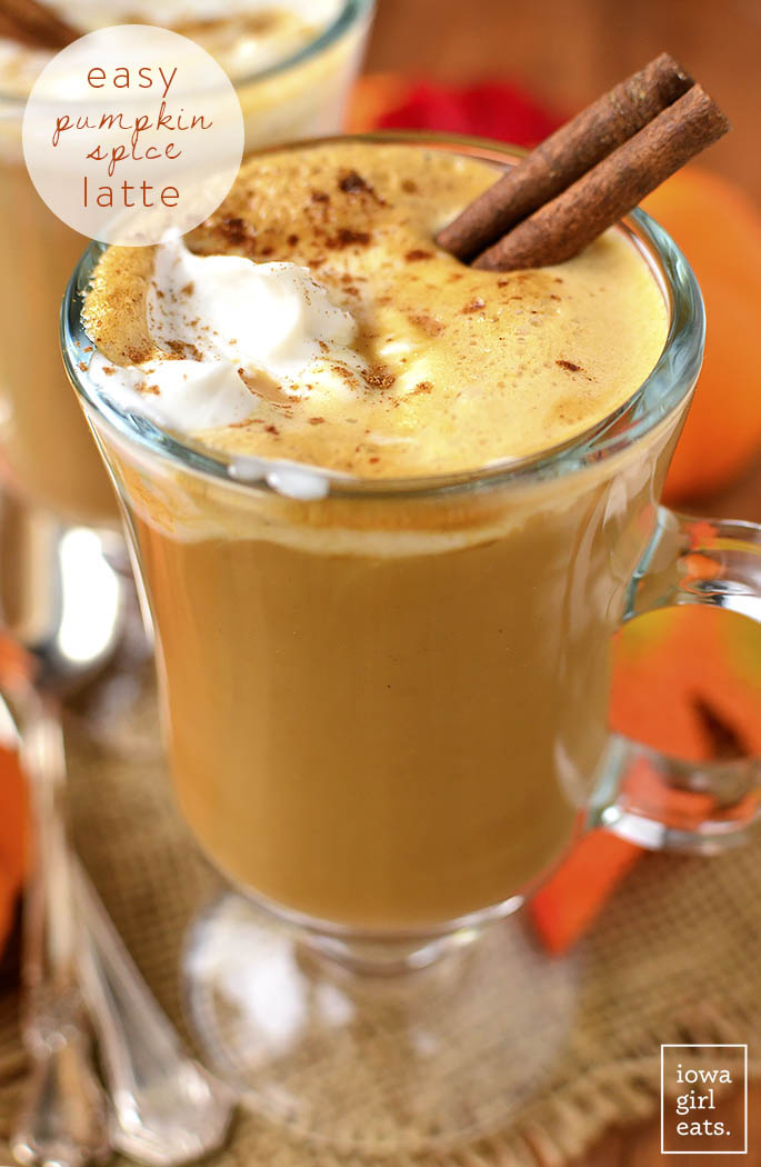 Easy Pumpkin Spice Latte, 3 Ways - Iowa Girl Eats