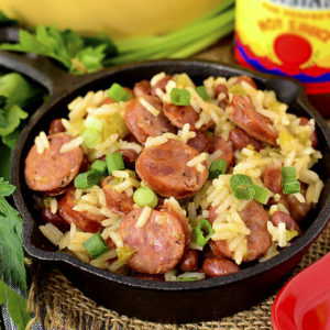One Pot Red Beans and Rice