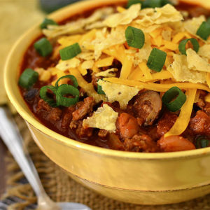 Taco Chili (Crock Pot Friendly!)