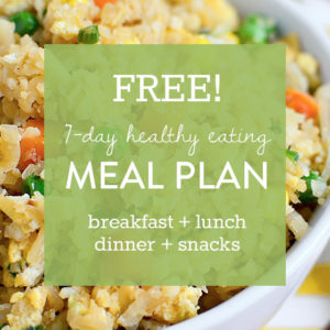 Diet After Baby: 5 Eating Tips + FREE 7 Day Healthy Eating Meal Plan
