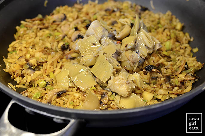 artichoke-leek-and-mushroom-fried-parsnip-rice-iowagirleats-12