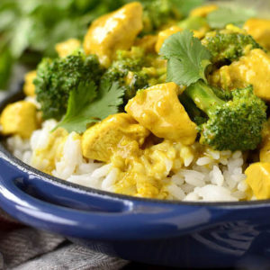 Lick Your Plate Coconut Chicken Curry (Video)