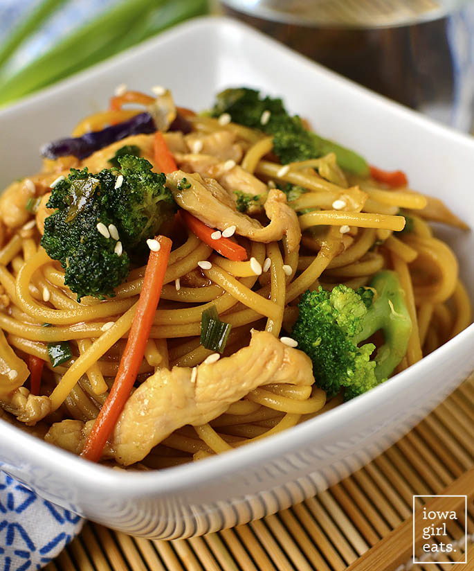 how to make lo mein noodles at home