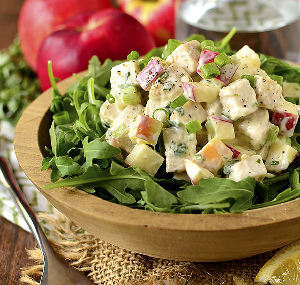 Apple Tarragon Chicken Salad