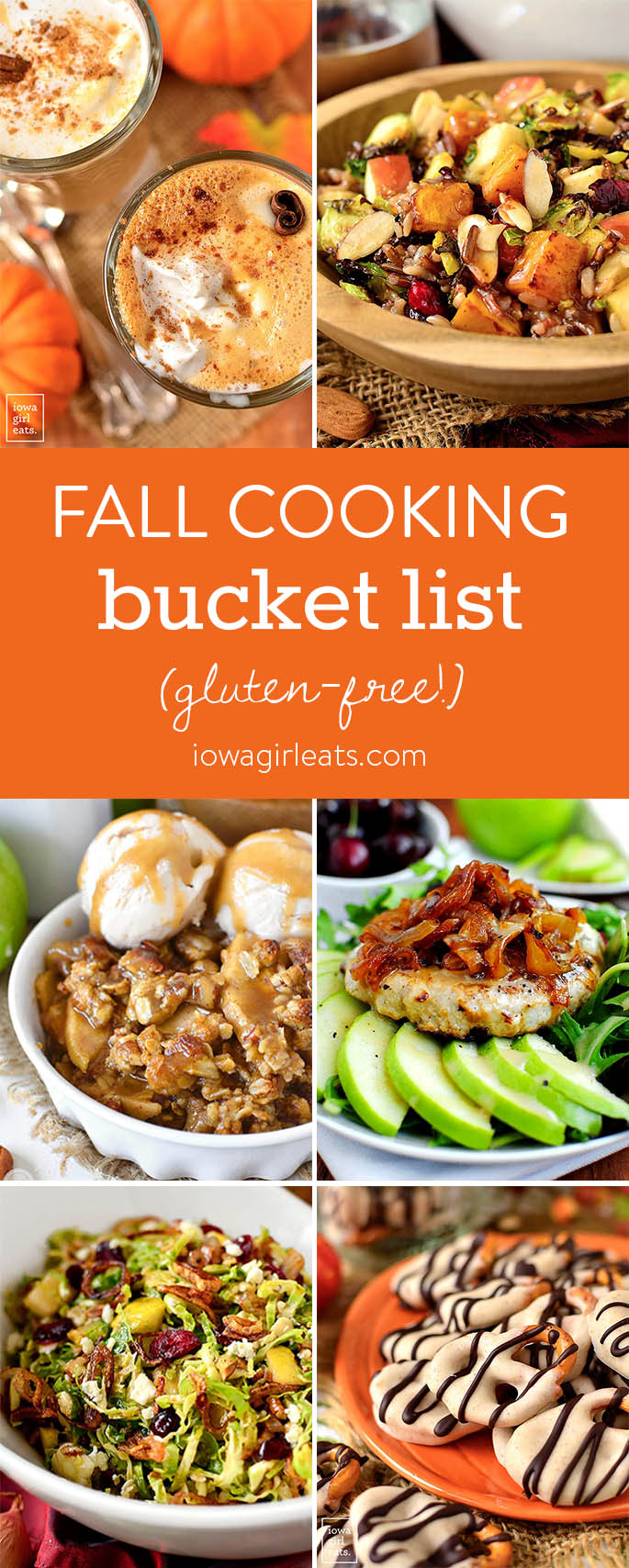 Don't let fall slip away without checking off these warming, hearty recipes from your fall cooking bucket list! | iowagirleats.com